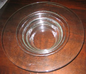 Treble drop bowl