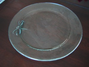 911910 Dragon Fly platter