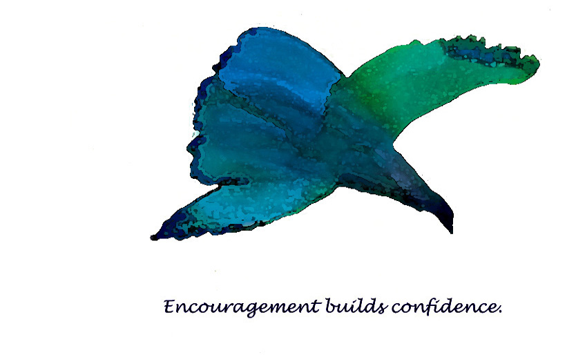 Card 11 Encouragement builds Confidence Final