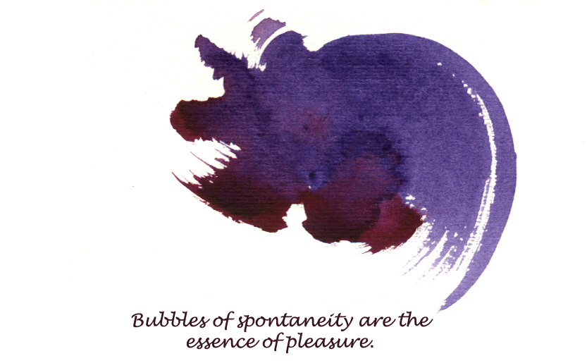 Card 17 Bubbles of Spontaneity Final
