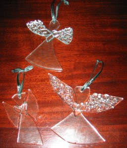 glass angels