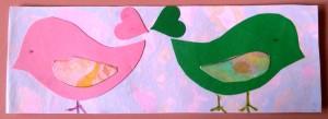 Janets bird bookmark